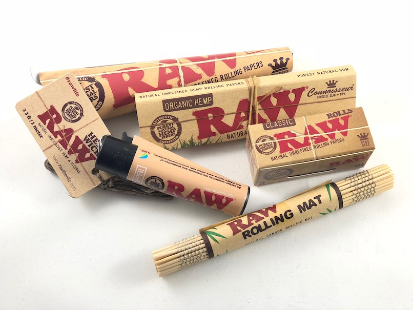 Raw Rolling Bundles and Rolling accessories from Atomic Blaze, online headshop